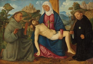 The Pietà with Saints Francis