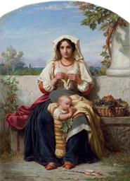 Jeune Mère Italienne