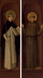 Saint Dominic; and Saint Franc