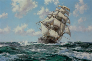 The Flying Clipper Ship 'The L