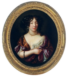 Portrait of Louise de Kerouail