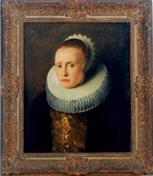 Portrait of a woman, wearing a