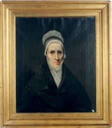 Portrait of an elderly woman w