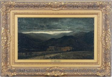 Pompei amid the mountains