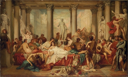 Romans during the Decadence