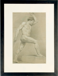 A study of a male nude; and a