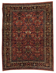 A BIDJAR CARPET,