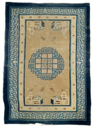 A GROUP OF FIVE CHINESE MATS,