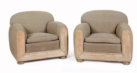 A PAIR OF FRENCH LIMED OAK AND