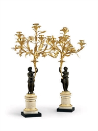 A PAIR OF LOUIS XVI ORMOLU PAT