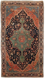 An antique Fraghan rug