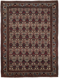 An Afshar large rug