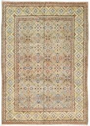 A unusual Kashan carpet