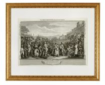 A SET OF TWELVE ENGRAVINGS FROM 'INDUSTRY AND IDLENESS'