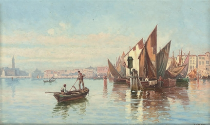 Fishing vessels in the Venetia