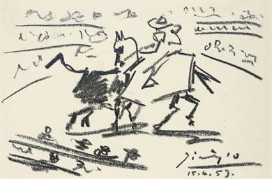 Picador et taureau