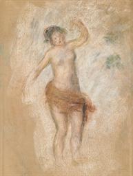 Faunesse dansant: Etude pour O