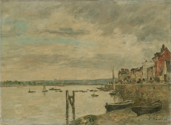 La Seine à Quillebeuf