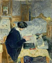 Lucie Hessel lisant