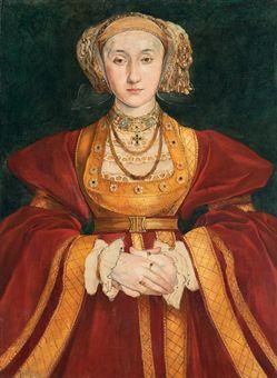 Anne de Clèves, d'après Hans Holbein le Jeune