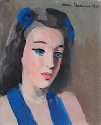 Portrait de Mademoiselle...