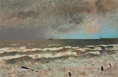 La mer à l'émbouchure de la Se