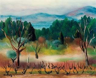 Paysage de Sanary