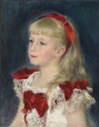 Mademoiselle Grimprel au ruban