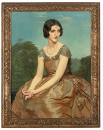 Portrait of Mrs. Mond, three-q