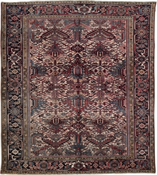 A small Heriz carpet