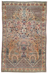 An unusual West Persian carpet