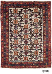 A LOT OF TWO AFSHAR RUGS
