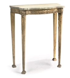 A GILTWOOD AND COMPOSITION CON