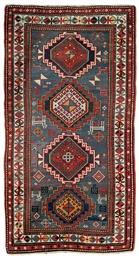 A medallion Kazak rug