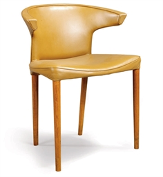 A DANISH ELBOW CHAIR