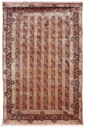 FINE SILK QUM CARPET, CENTRAL