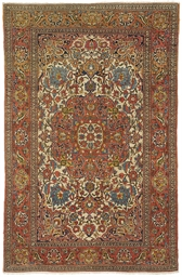 A PAIR OF FINE ISFAHAN RUGS, C