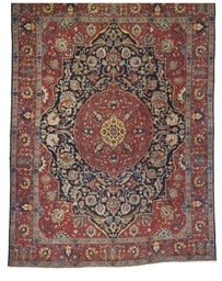 A KHOY TABRIZ CARPET, NORTH-WE