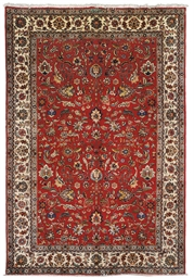 A PAIR OF TABRIZ CARPETS, NORT