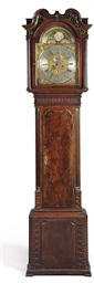 A GEORGE III MAHOGANY STRIKING