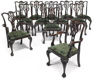 A SET OF TWELVE LATE VICTORIAN