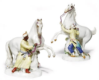 A PAIR OF MEISSEN GROUPS OF ST