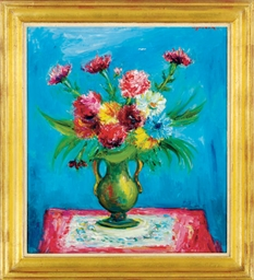 Still life of flowers in a vas