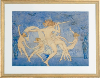 Dancers in the nude
