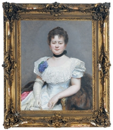 Portrait of Mrs Blumenstiel, w