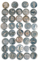 THIRTY-EIGHT VICTORIAN SILVER-