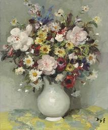 Roses, Anthémys, Marguerites,