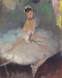 Ballerine, danseuse au repos