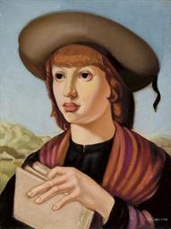 Jeune homme au livre
