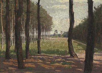 Grunwald Landscape near Berlin